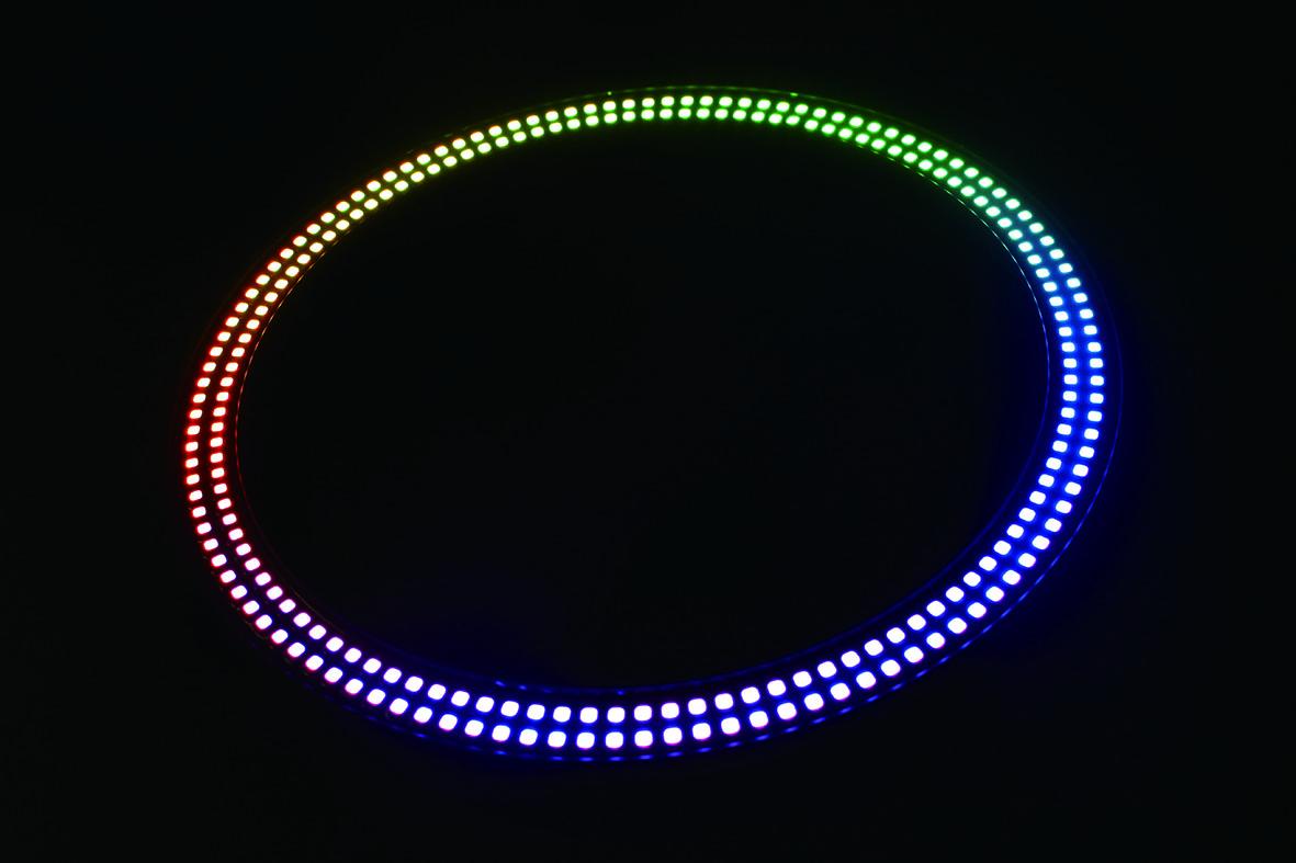 LEDピクセルリング
